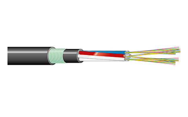 Armoured Fiber Cable